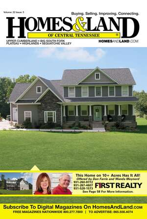 HOMES & LAND Magazine Cover. Vol. 22, Issue 05, Page 58.