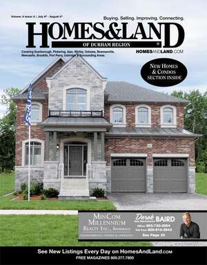 HOMES & LAND Magazine Cover. Vol. 08, Issue 06, Page 39.