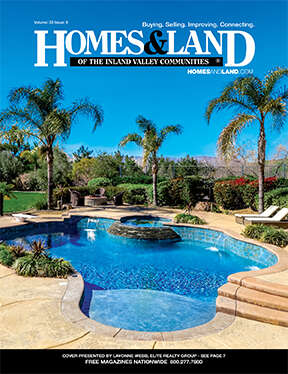 HOMES & LAND Magazine Cover. Vol. 33, Issue 09, Page fro.