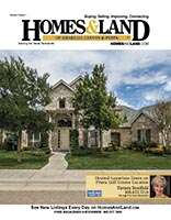 HOMES & LAND Magazine Cover. Vol. 09, Issue 02, Page 20.