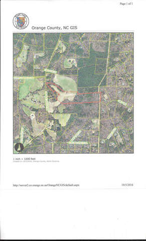 Land for Sale at 0 Orange Grove Road Chapel Hill, North Carolina 27516 United States