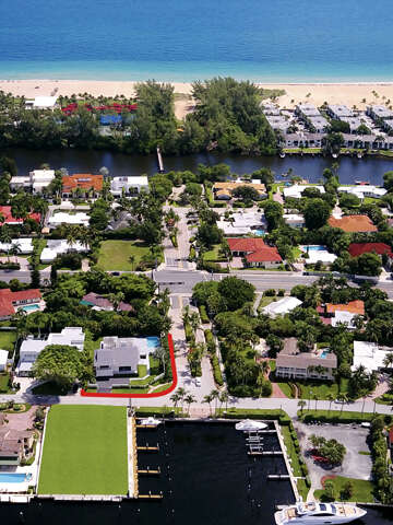 Single Family for Sale at 1430 E Lake Dr Fort Lauderdale, Florida 33316 United States