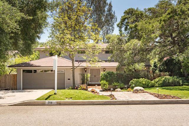 Single Family for Sale at 218 Manzanita Avenue Sierra Madre, California 91024 United States