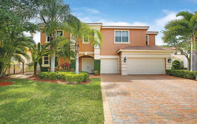 Single Family for Sale at 187 Sedona Way Palm Beach Gardens, Florida 33418 United States