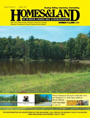 HOMES & LAND Magazine Cover. Vol. 40, Issue 10, Page 18.
