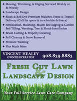 Fresh Cut Lawn & Landscape Design