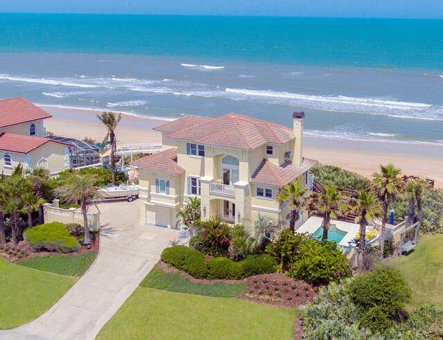 Single Family for Sale at 3399 N. Oceanshore Blvd. Flagler Beach, Florida 32136 United States