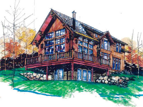 Single Family for Sale at Lot 8a Summit View Drive Stowe, Vermont 05672 United States
