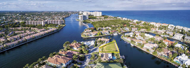 Land for Sale at 4205 Intracoastal Drive Highland Beach, Florida 33487 United States