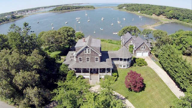 Single Family for Sale at 36 Squeteague Harbor Road Cataumet, Massachusetts 02534 United States