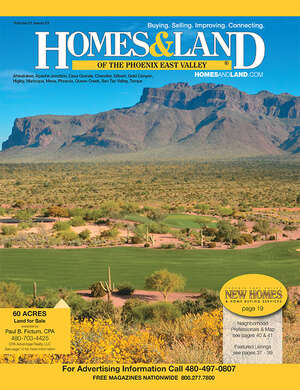 HOMES & LAND Magazine Cover. Vol. 23, Issue 01, Page 39.