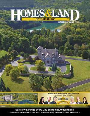 HOMES & LAND Magazine Cover. Vol. 09, Issue 09, Page 33.