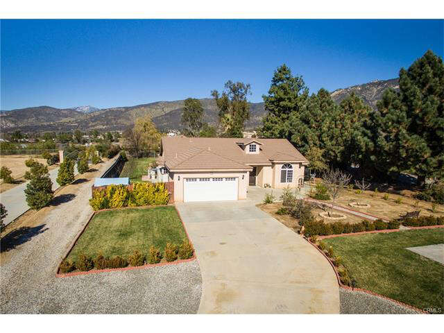 Single Family for Sale at 35790 Oak Glen Road Yucaipa, California 92399 United States
