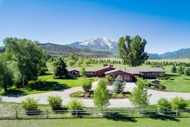 Single Family for Sale at 1567 Prince Creek Road Carbondale, Colorado 81623 United States