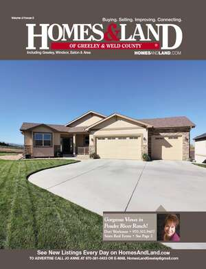 HOMES & LAND Magazine Cover. Vol. 31, Issue 03, Page 2.