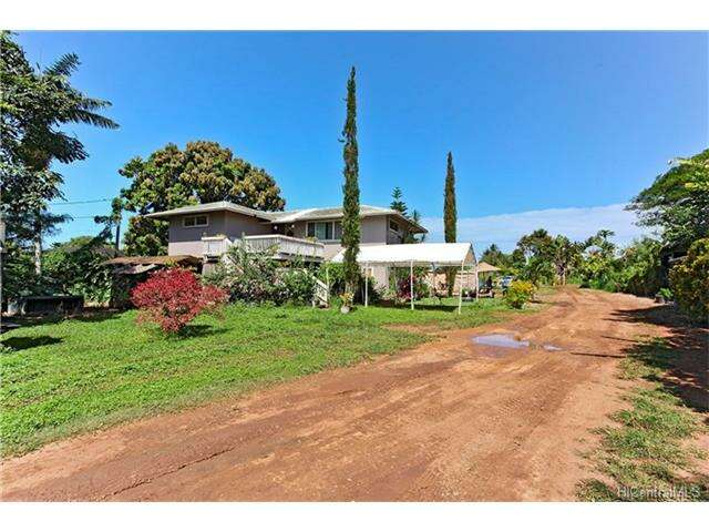 Single Family for Sale at 66-089 Achiu Lane Haleiwa, Hawaii 96712 United States