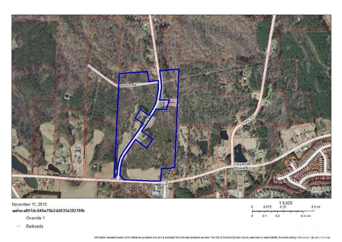 Land for Sale at 1902 Virgil Road Durham, North Carolina 27703 United States