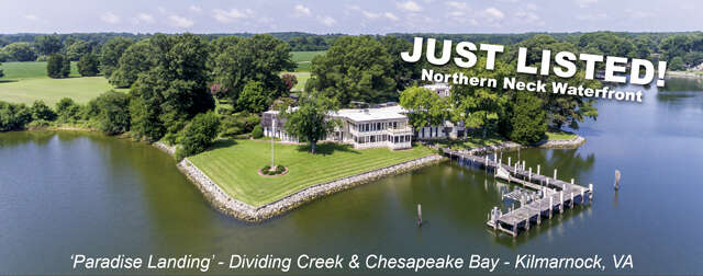 Single Family for Sale at 493 Dividing Creek Lane Kilmarnock, Virginia 22482 United States