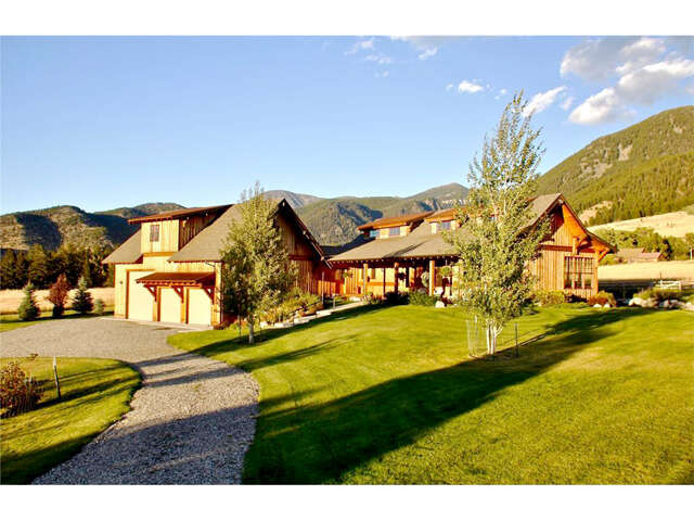 Single Family for Sale at 25 Lower Deep Creek Bench Road Livingston, Montana 59047 United States