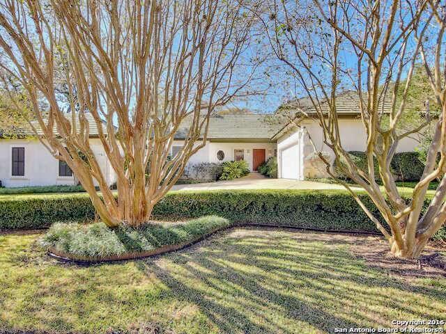 Single Family for Sale at 12731 Cranes Mill San Antonio, Texas 78230 United States