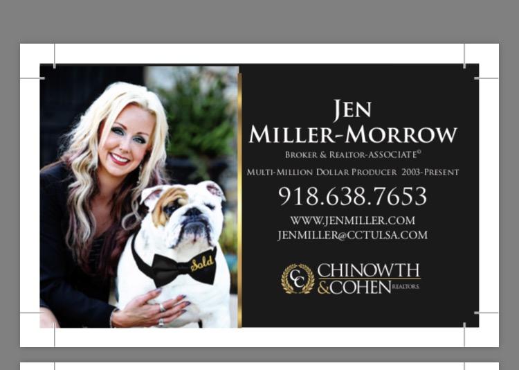 Jen Miller-Morrow