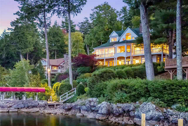 Single Family for Sale at 218 Black Point Rd Alton, New Hampshire 03809 United States