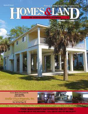 HOMES & LAND Magazine Cover. Vol. 22, Issue 01, Page 13.