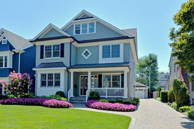 Single Family for Sale at 412 Philadelphia Blvd Sea Girt, New Jersey 08750 United States