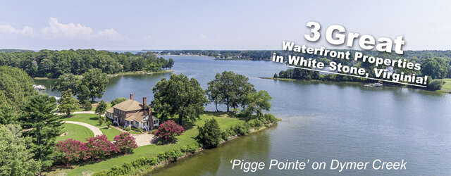 Single Family for Sale at 568 Greenfield Lane White Stone, Virginia 22578 United States