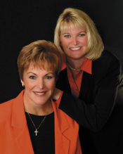 Michele Wagner and Donna Sugden