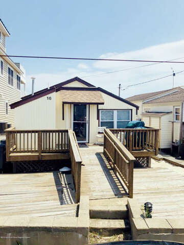 Single Family for Sale at 16 Ocean Avenue South Seaside Park, New Jersey 08752 United States