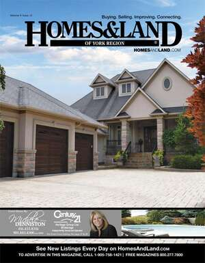 HOMES & LAND Magazine Cover. Vol. 09, Issue 12, Page 28.