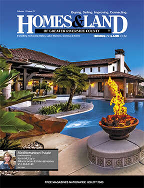 HOMES & LAND Magazine Cover. Vol. 11, Issue 12, Page 9.