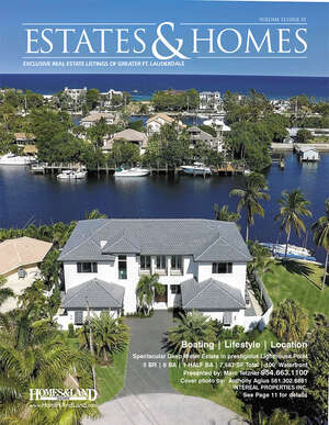 HOMES & LAND Magazine Cover. Vol. 12, Issue 10, Page 11.