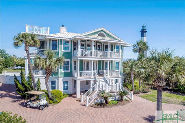 Single Family for Sale at 102 General George Marshall Boulevard Tybee Island, Georgia 31328 United States