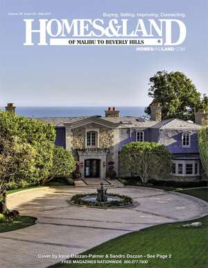 HOMES & LAND Magazine Cover. Vol. 38, Issue 02, Page 1.