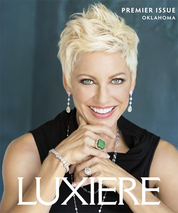 Luxiere of Oklahoma Magazine Cover