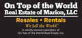 On Top of the World Real Estate of Marion LLC, Ocala FL, License #: BK3346721